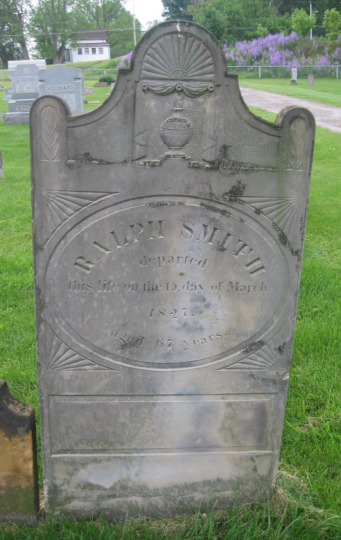 Markers Of American Revolution Veterans In Galena Cemetery