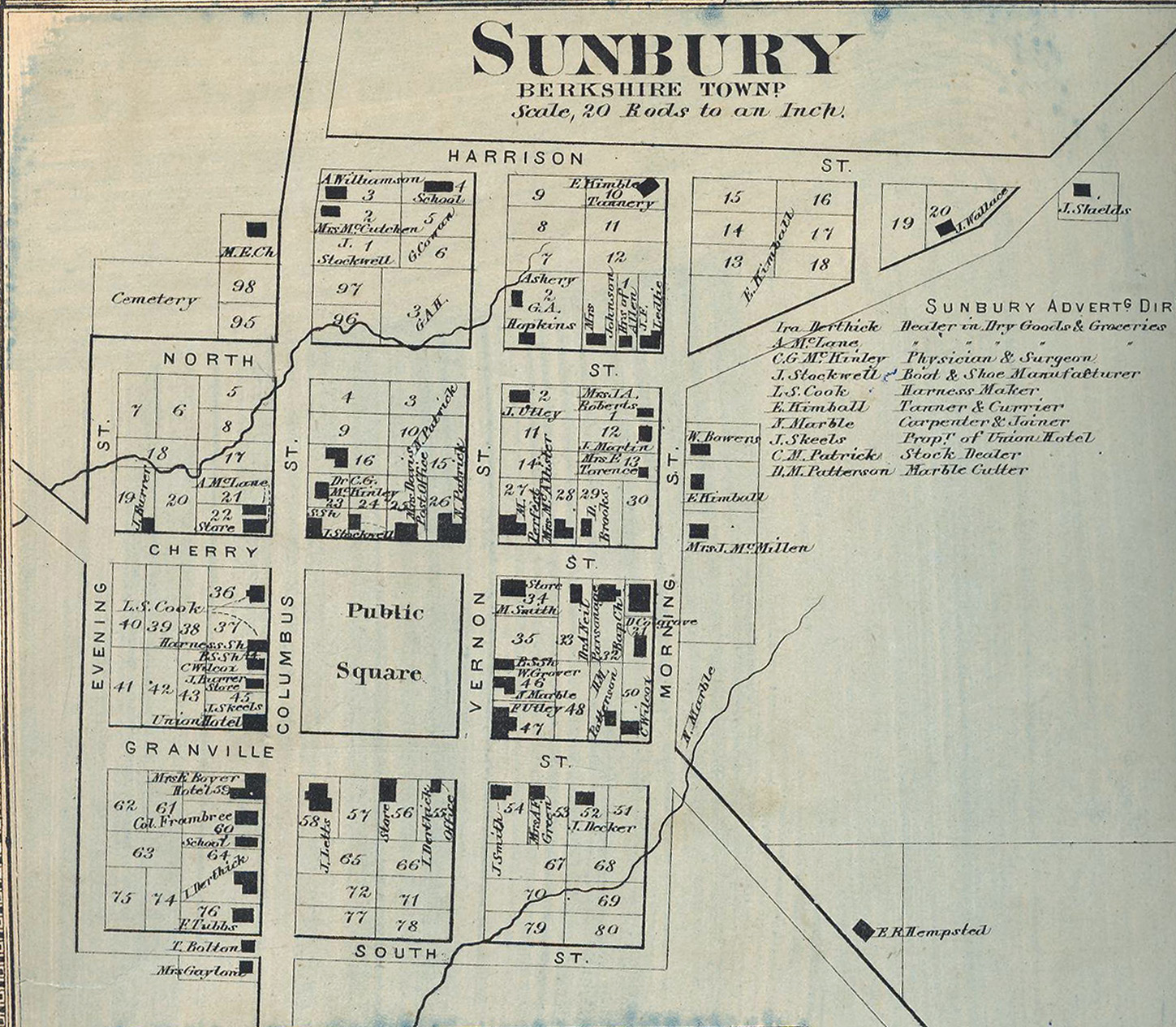 Return To Local History Index